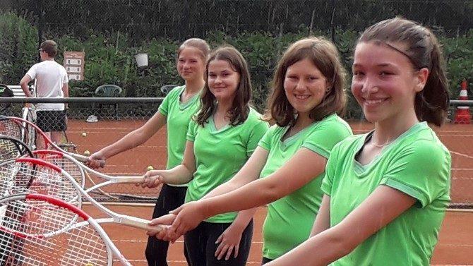 Juniorinnen unter 15 Jahren gewinnen 3:0 gegen TC Wolbeck