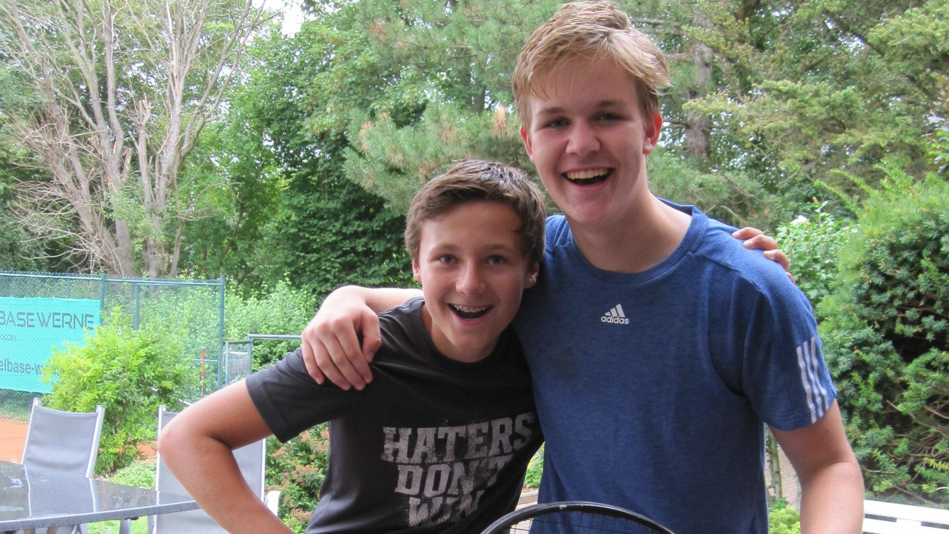Erfolge für die Werner Tennisspieler bei den offenen Stadtmeisterschaften