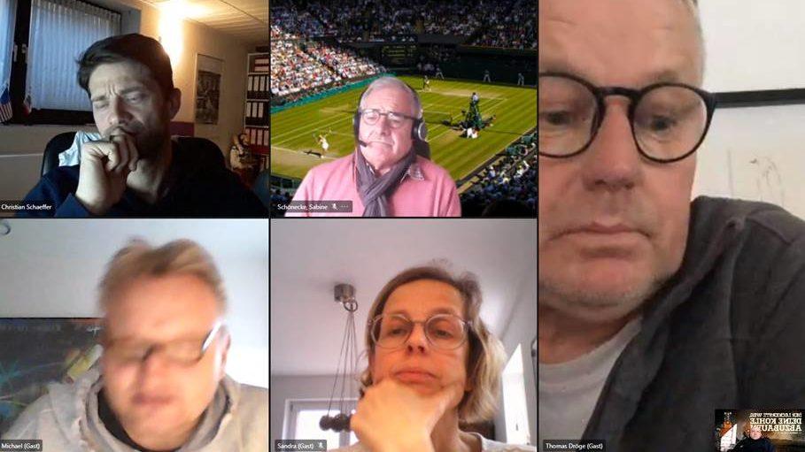 1. Online Meeting der Berufstrainer beim Werner TC