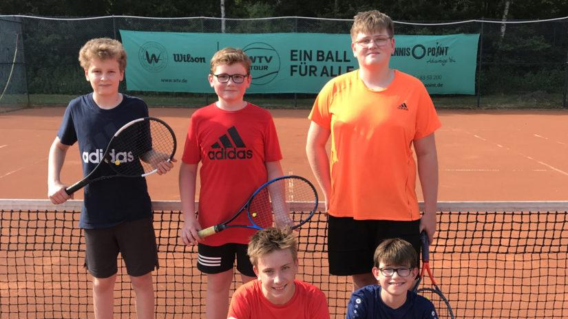 Tennissaison der Jugend des WTC 75 hat begonnen